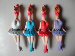 Quietschendes Latex-Huhn-Hundespielzeug (HN-PT011)