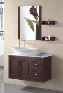 浴室の虚栄心のカシのSanitarywareの浴室用キャビネット(802)