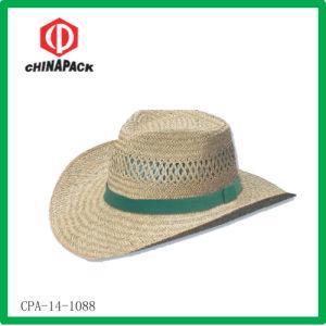 Cappello del cowboy della paglia (CPA-14-1088)