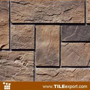 El panel de piedra artificial con la mirada de piedra - Panel de piedra natural ...
