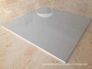 60X60cm Pure Light / Dark Grey Color Polished Porcelain Floor Tiles (QI6707P)