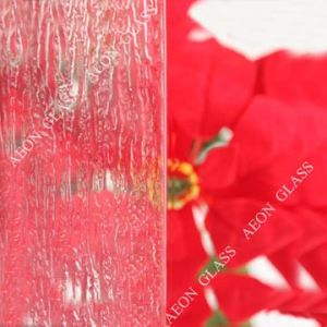 3mm, 4mm, 5mm, 6mm Clear Rain Figured/Pattern/Patterned Glass