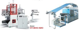Controle Servo Motor Plastic Vacuum Forming Machine