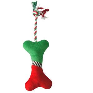 Hundekauen-Weihnachtsknochen-Spielzeug, Haustier-Spielzeug