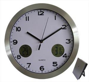 Horloge de mur de station météorologique