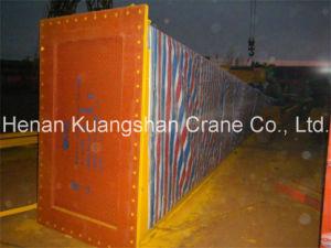 Grúa de pórtico doble montada sobre carriles de la viga 100 toneladas