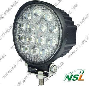 """42W 4.5 """" 14 lumière de travail du travail Light/LED du travail Light/2800lm LED de LED pour la lumière de brouillard de machine de forêt"""