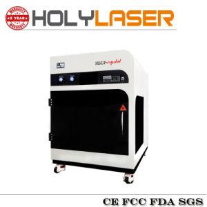 Machine de gravure à fleur de terre du laser 3D de verre cristal Hsgp-3kd