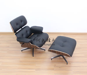 chaise de salon de charles eames avec le tabouret 9021 b chaise de salon de charles eames. Black Bedroom Furniture Sets. Home Design Ideas
