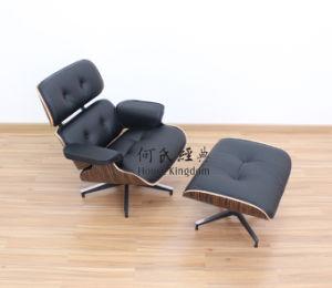 chaise de salon de charles eames avec le tabouret 9021 b chaise de salon de charles eames. Black Bedroom Furniture Sets. Home Design Ideas
