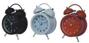 Horloge d'alarme jumelle de Bell (203)