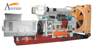210 серий Low Noise Marine Generator Set (1000GF)