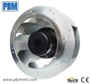 ventilador Telecom do centrifugador do Ec da ventilação do ar da entrada de C.C. 48V