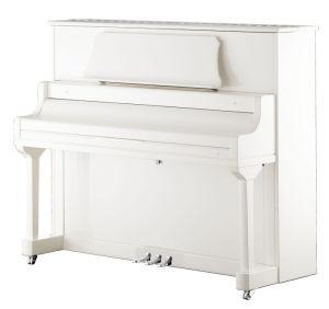 Instruments de musique de piano droit du blanc 125 de Schumann (DA1)