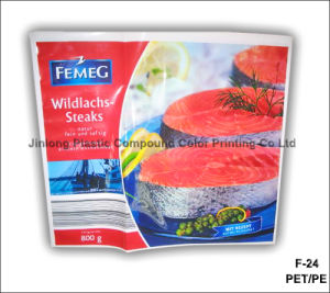 음식 부대를 인쇄하는 플라스틱