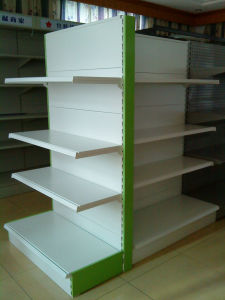 Supermarché Gondola Racking System avec Adjustable Shelf