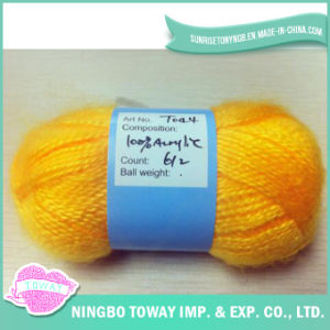 Acrílico Weaving Copiar angorá Craft fios de lã Knitting