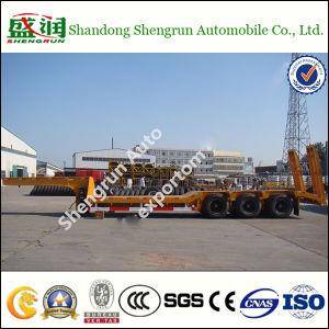 semi Aanhangwagen van het Bed van het Vervoer van de Machine van 13m de Zware Lage (SKW5225GHY)