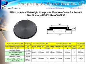 Manhole Cover étanche composite hôtes EN124