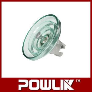 Linha de alta tensão isolador de suspensão de vidro (LXP-160)