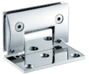 Vidro de 90 graus para murar a dobradiça de porta de bronze do chuveiro (FS-324)