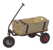 Carro de jard n de madera tc1818 carro de jard n de for Carritos de madera para jardin