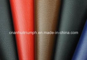 100% couro PU para Calçados (tg65)