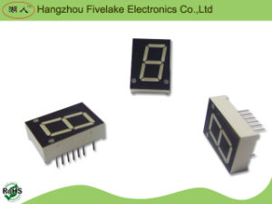 Afficheur LED unique de segment du chiffre 7 de 0.8 pouce (WD08012-A/B)