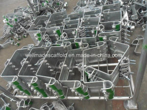 Sistema de Cuplock del andamio de la cerradura de la taza para el edificio del encofrado de la construcción