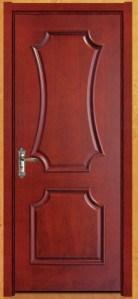 Porte en bois de peinture de placage nouveau model 023 for Placage bois porte interieure