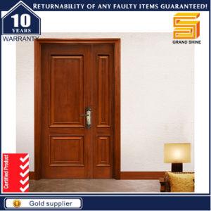 moderna puerta doble de madera entrada principal puerta de madera
