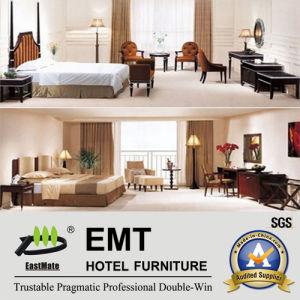 Jeu de chambre à coucher en bois de meubles de chambre à coucher d'hôtel (EMT-A6003)