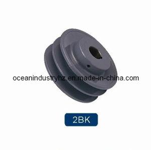 poulie de ceinture de 2bk V
