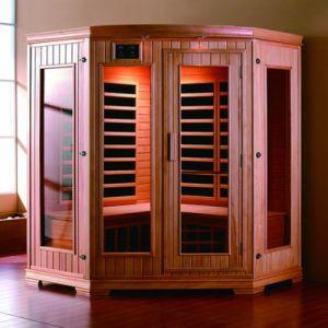 De hete Traditionele Sauna van de Verkoop, de Infrarode Zaal van de Sauna, de Traditionele Infrarode Zaal van de Sauna (SR-128)