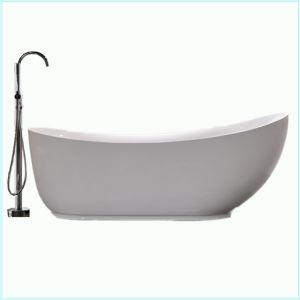 Moderne acryl diepe freestanding badkuip ew6512 moderne acryl diepe freestanding badkuip - Badkuip bel ...