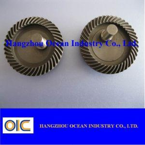 Pignon conique M1 spiralé en acier