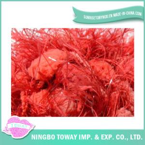Acrílico Poliéster brilhante Red Feather POM-POM Fancy fios