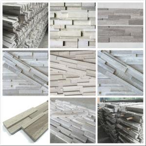 Pierre culturelle de marbre artificiel de bois de for Pierre et bois construction