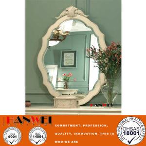 blanco tocador moderno con espejo muebles de madera dormitorio