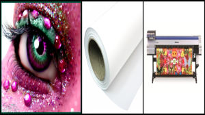 Tela di canapa di stampa del getto di inchiostro del poliestere