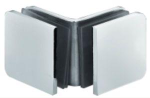 Vidro do quarto de chuveiro do aço inoxidável ao grampo de vidro (FS-523)