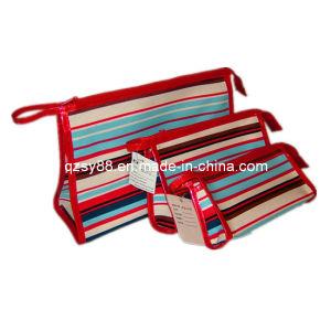 Caixa cosmética do arti'culo de tocador do saco da forma