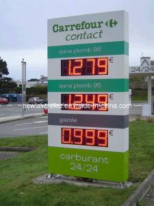 """Extérieurs """" signe d'affichage de commutateur des prix de carburant de DEL IP65 8 (TT20)"""