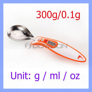 Maximales 300g/0.1g Accuracy High Precision Kitchen Mini Digital Spoon Scales