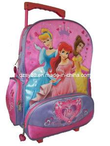 Nuevo bolso de escuela de la carretilla de los estudiantes de la historieta del diseño para las muchachas (SYSB-001)