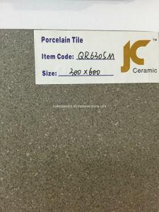 tuiles Polished de porcelaine de plein corps de 600X600mm (QR6305M)