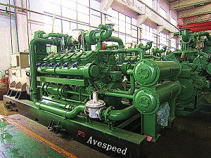 Высокая эффективность Competitive Gas Generator Price AVESPEED500GJZ1-PwT-ESM3 500kw