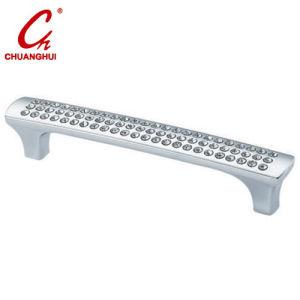 家具のハードウェアのキャビネット亜鉛合金の水晶ハンドル