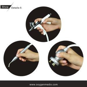 L'oxygène d'Oxypeeling avec la machine de beauté d'écaillement de diamant (CE, OIN)