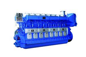 Морской пехотинец двигателя дизеля запуска в воздухе скорости средства Avespeed Gn320 735kw-3089kw Compressed